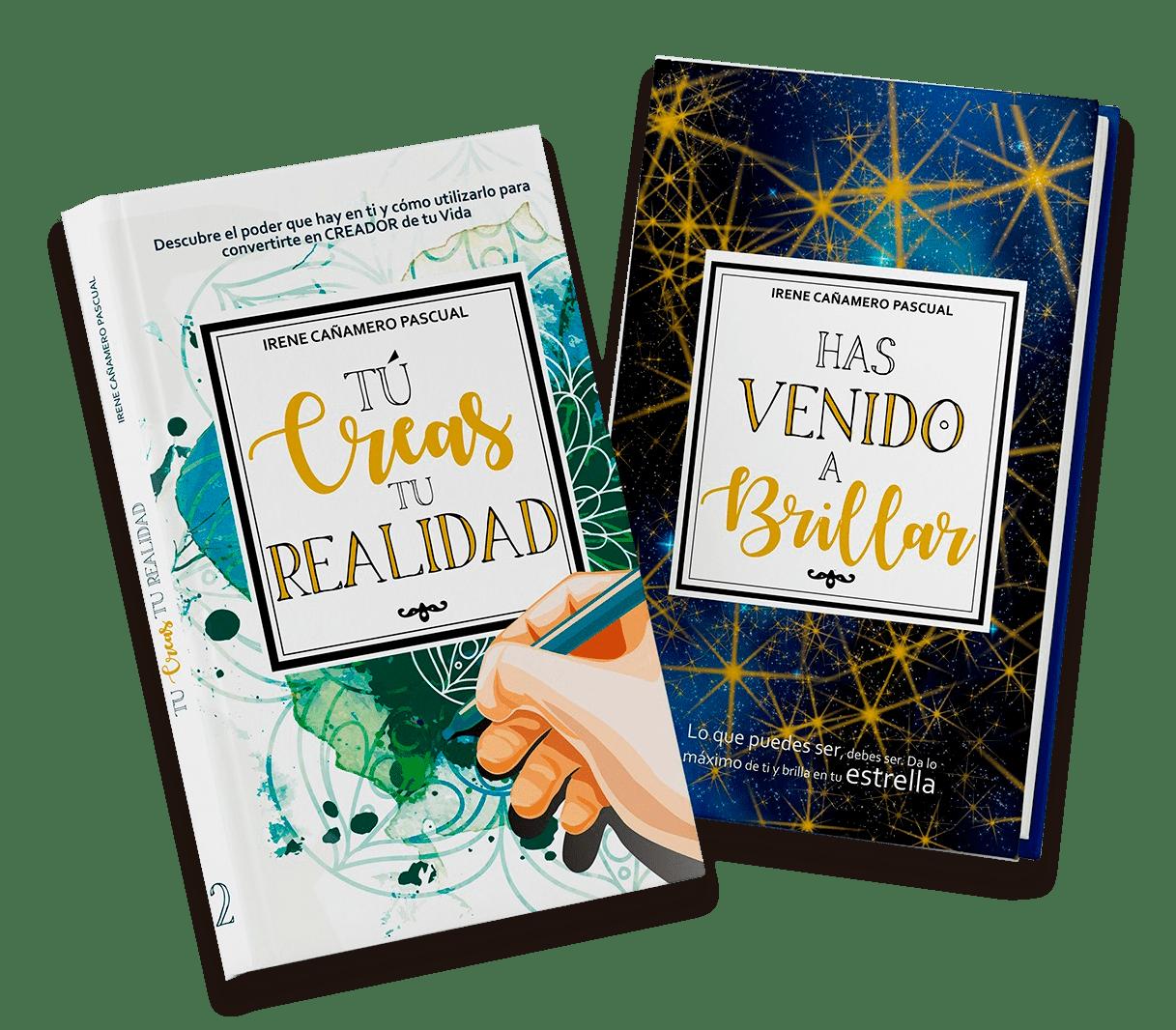 pack libros 2 y 3 Irene Cañamero